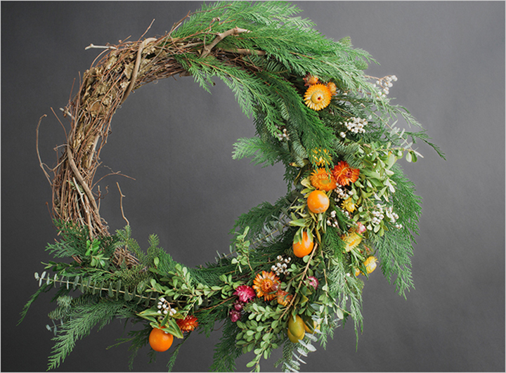 Rue Magazine's DIY fall wreath tutorial