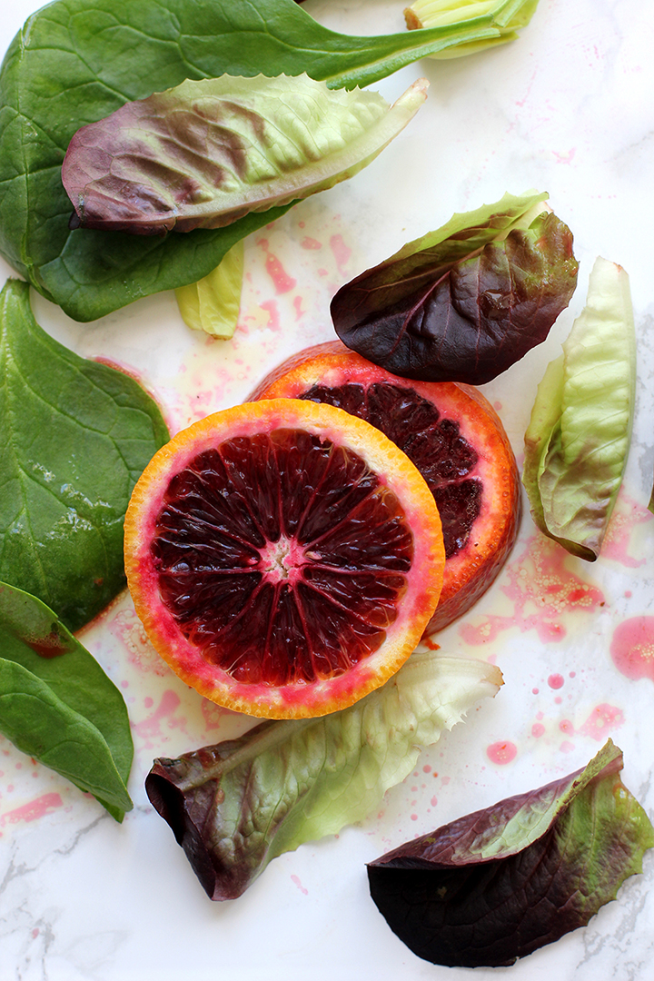 Our new favorite salad dressing – Homemade Blood Orange Vinaigrette