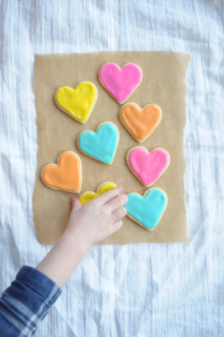 Such a fun and sweet treat for Valentine's Day - the Best Valentine Sugar Cookie Recipe.