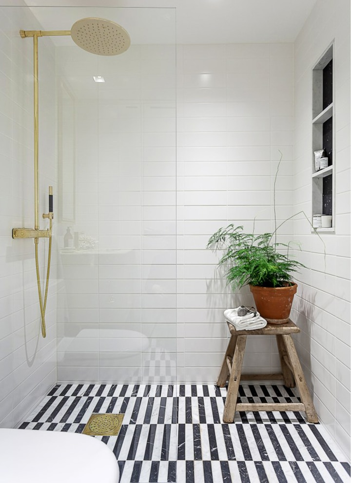 Great round up of Patterned Tile inspiration
