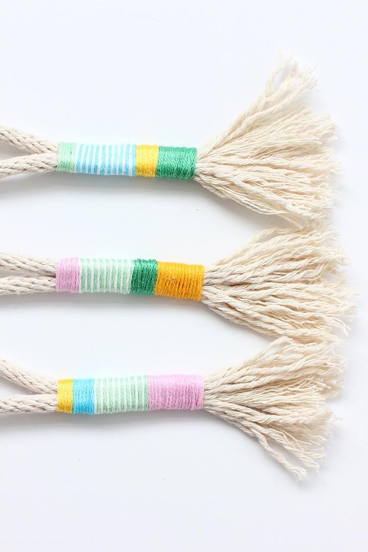 DIY Rope Tassel Keychains | Alice & Lois