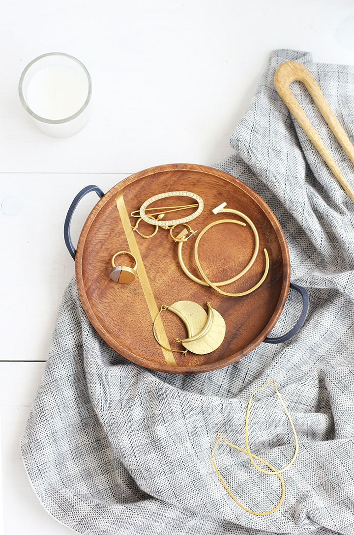 DIY Mother's Day Wood Jewelry Dish