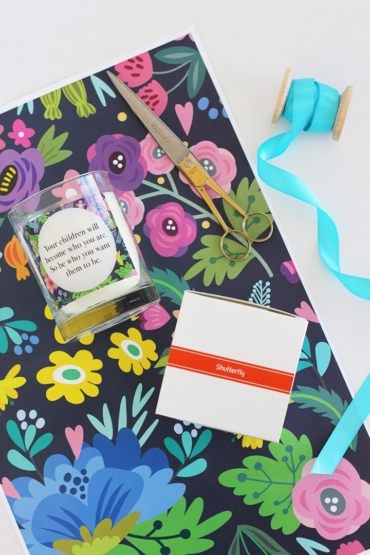Mother's Day Gift Idea and Printable Wrapping Paper