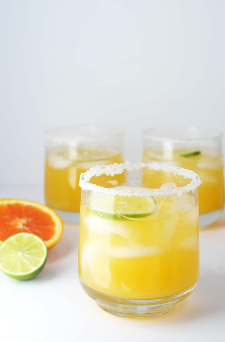 This is the best Orange Margarita Recipe to try. It's totally refreshing!