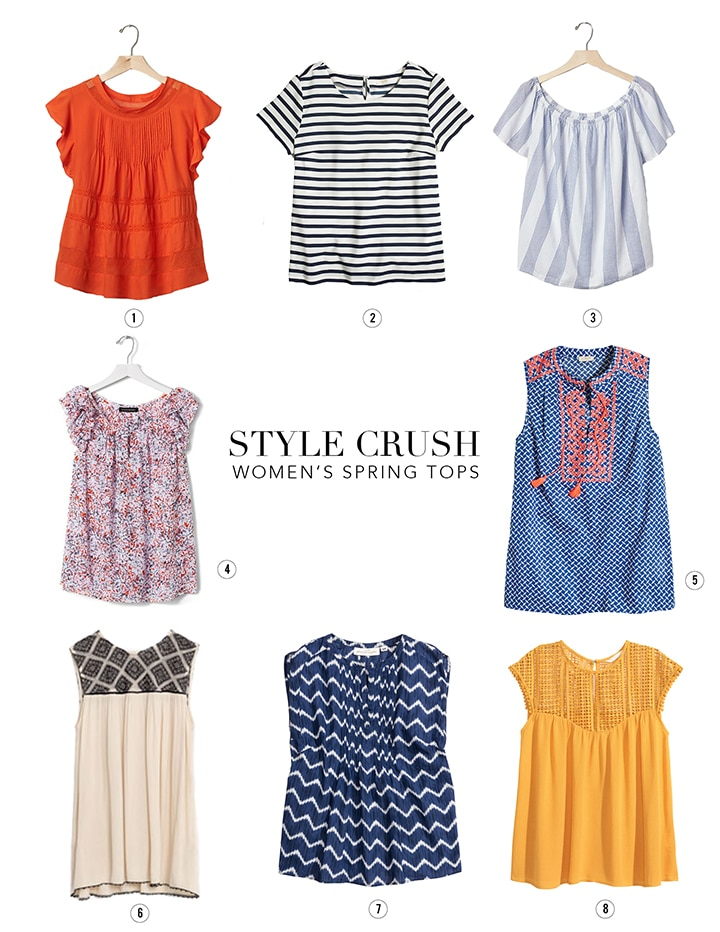 Some great finds for spring... our favorite Women's Tops.