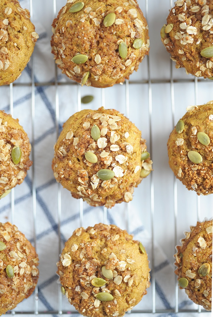Try these Healthy Pumpkin Muffins
