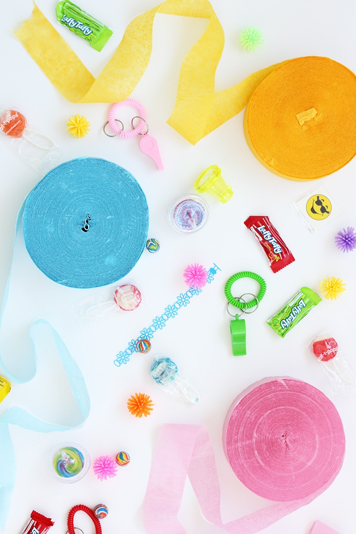 DIY Colorful Button Birthday Decor
