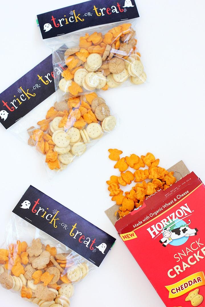Halloween Snack Bag Labels Free Printable