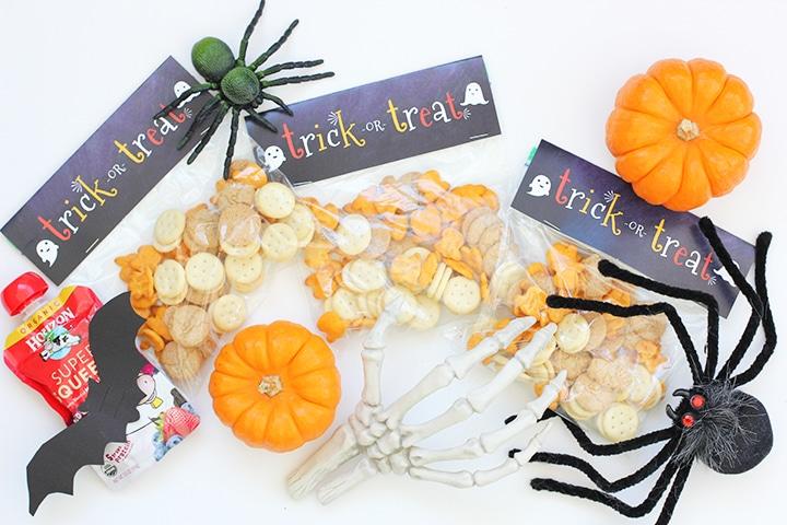 Halloween Snack Bag Free Printable