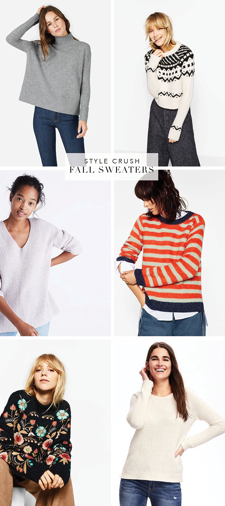 Favorite fall sweaters for women