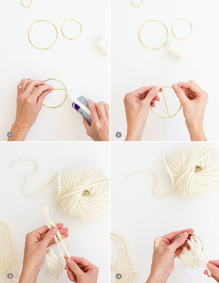 DIY Mini Wall Hangings