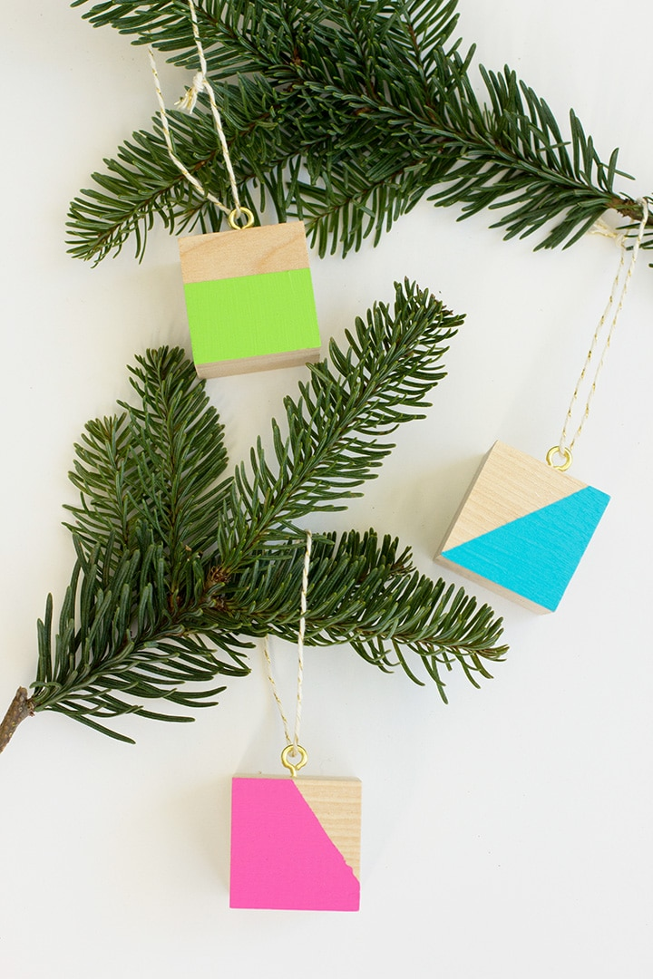 diy-color-block-ornament-7