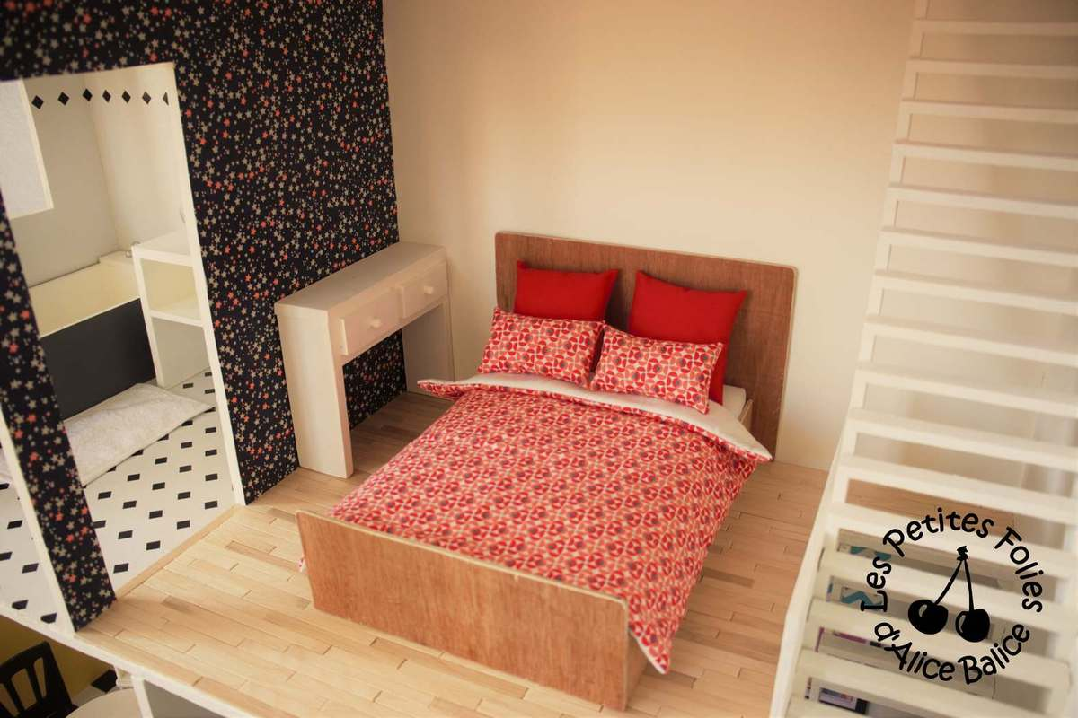 maison de barbie 6 les meubles chambres et salle de bain