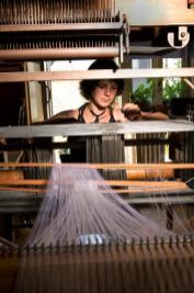 tissage contemporain, art textile, alice heit