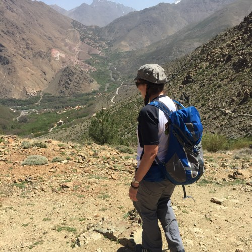 Douar Samra in Imlil. Adventure base for Atlas Mountains, Toubkal with Alice Morrison, Alice Out There
