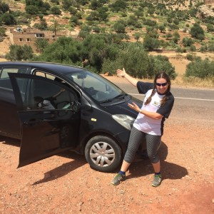 top ten tips for driving in Morocco by alice morrison, alice out there, alice hunter morrison