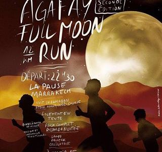 Full Moon Run Agafay Ramadan Morocco