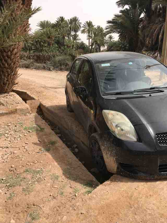 Alice Morrison bad driver in Morocco