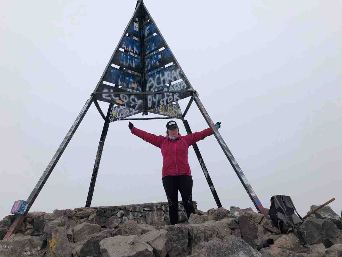 Mount Toubkal in one day Alice Morrison