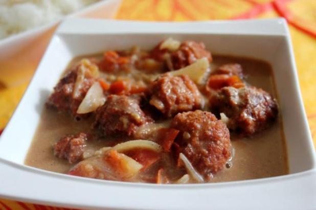 Boulettes de poulet à la tomate