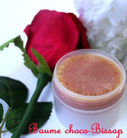 Baume corporel chocolat blanc & bissap