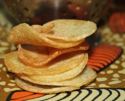 chips d'igname