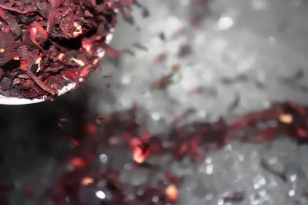 Le Karkanji (Bissap-Foléré-Fleur d'hibiscus) à la tchadienne