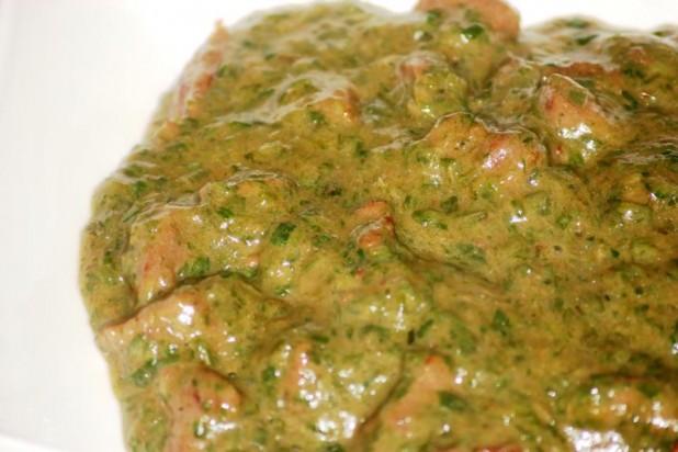 Sauce gombo à la viande de boeuf (Recette Tchadienne)