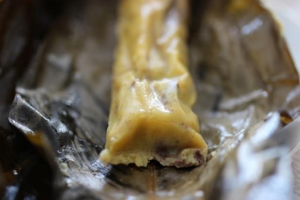 Le Nkonda (pain de manioc à la pâte d'arachide) (8)