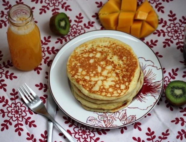 pancake au cottage cheese