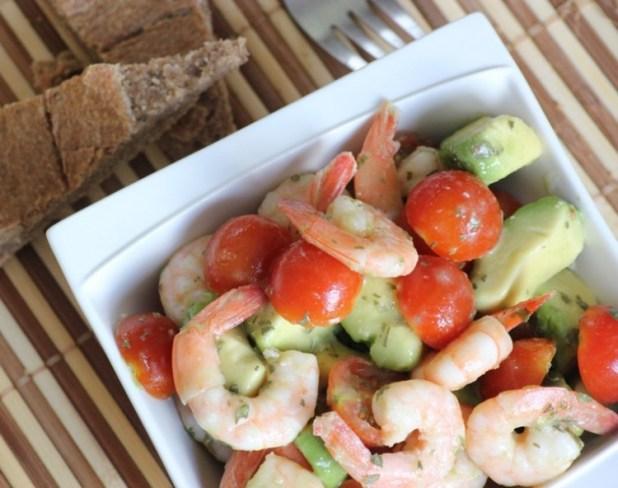 salade d'avocat et crevettes (8)