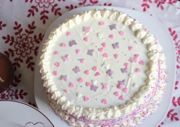 gâteau au chocolat blanc et chocolat au lait