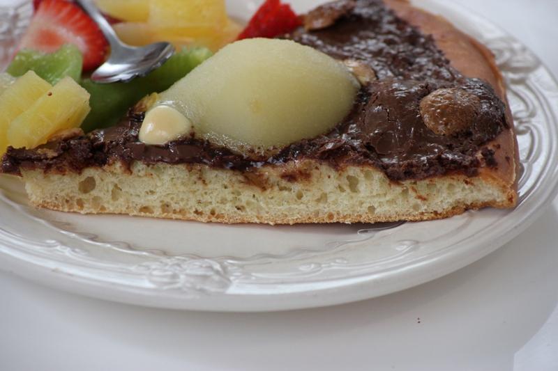 pizza chocolat et poire (10)