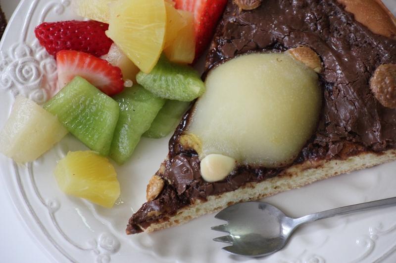 pizza chocolat et poire (13)