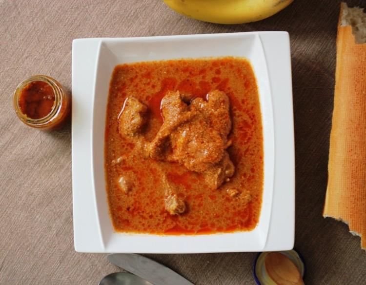 poulet sauce pistache