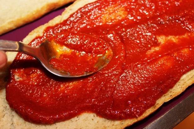 tartine de pain à l'igname