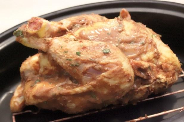 poulet rôti aux arachides