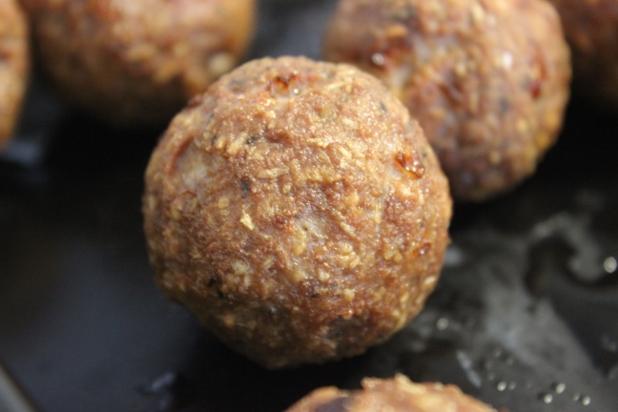 boulettes de sanglier à la noix de coco