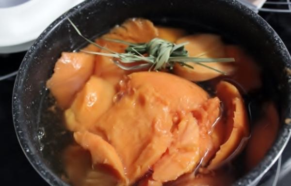 jus de papaye à la citronnelle
