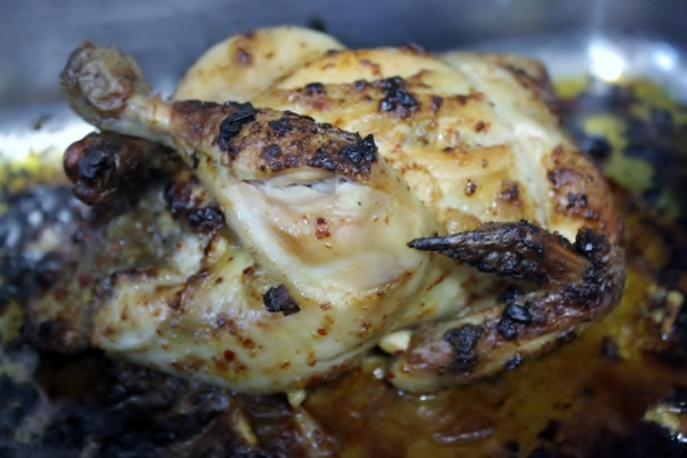 poulet rôti au piment d'espelette