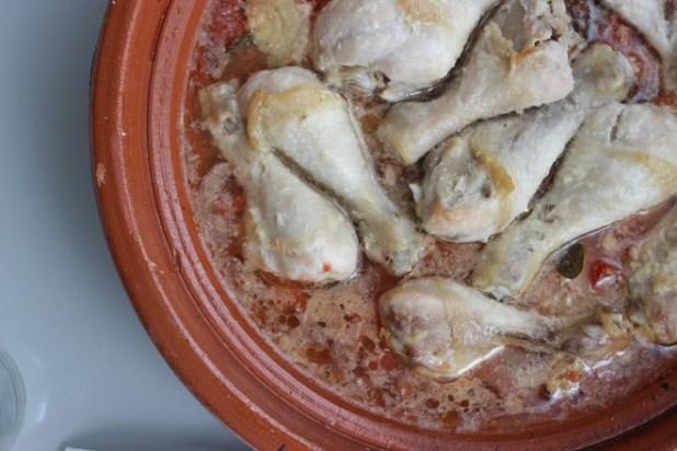 poulet en canari