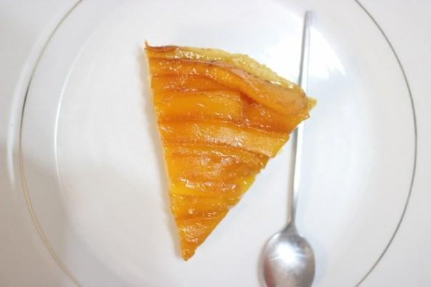tarte tatin de mangue