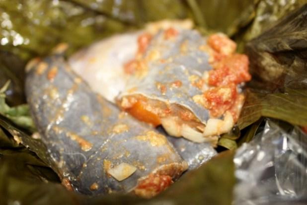 papillote de poisson -ndomba