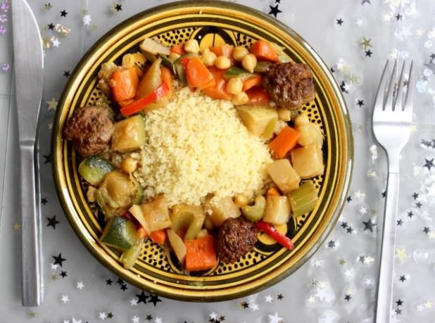 couscous de boulettes de boeuf