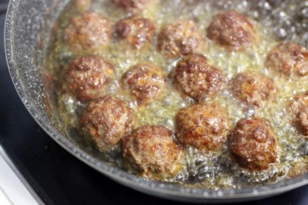 boulettes de boeuf au chorizo