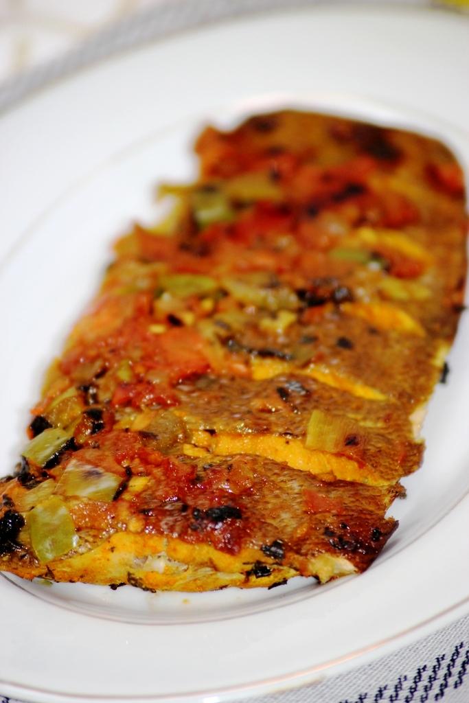 sole rôtie aux épices