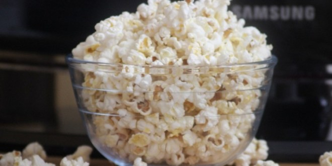 pop corn sans huile
