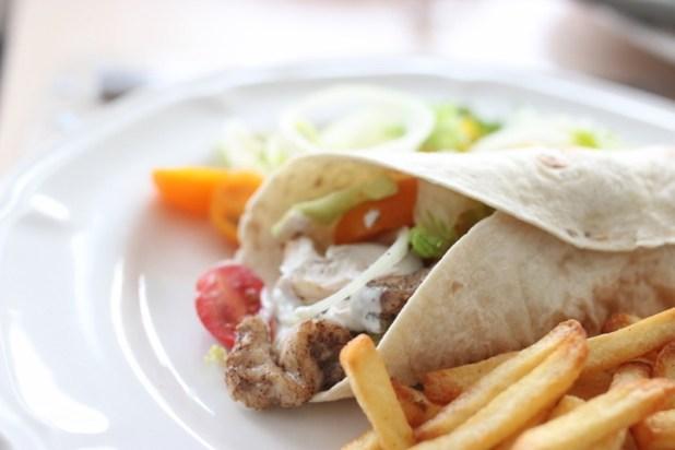 chawarma (kebab) de poulet