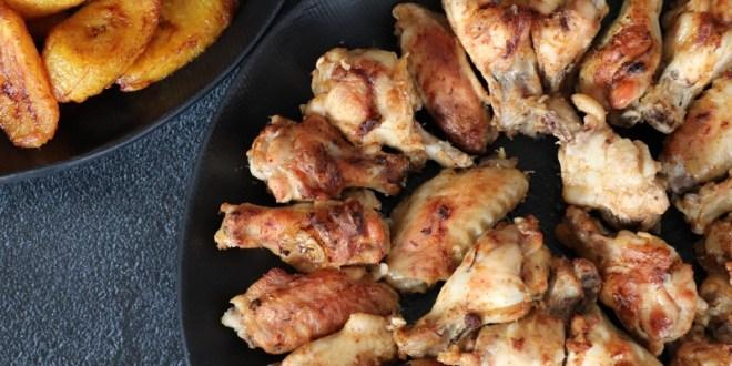 ailes de poulet ail et gingembre
