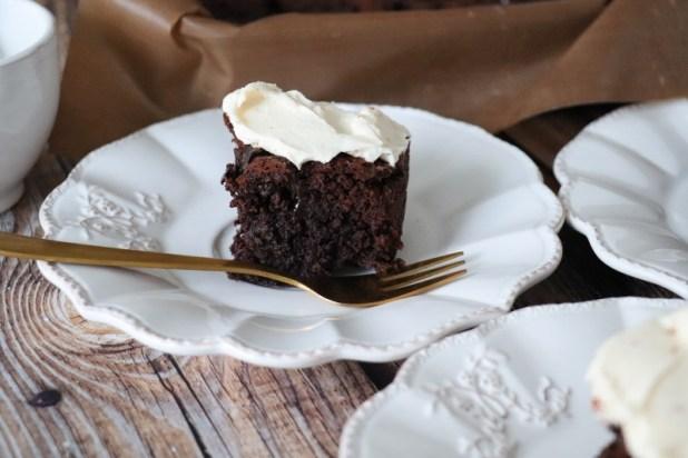 brownie chocolat et mascarpone